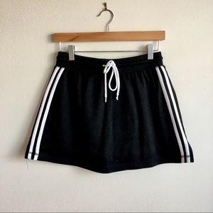 Vintage 90s Athletic Wear Skort Stripe Side